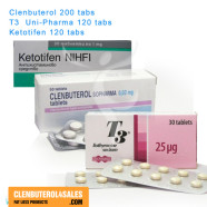 Buy Clenbuterol T3 Ketotifen Cycle