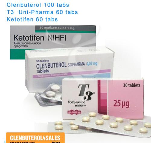 Clen T3 Ketotifen